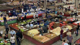 Zonguldak halk pazarındaki fiyatlar yüz güldürdü