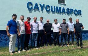 Çaycumaspor'dan spor malzemesi desteği