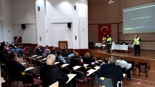 Taşıma yapan şoför ve rehberler eğitim semineri
