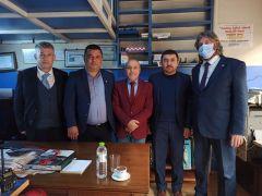 BİK Şube Müdürü Çorbacı'dan gazetelere ziyaret