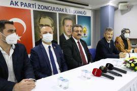 Çalışma ve Sosyal Güvenlik Bakan Yardımcısı Faruk Özçelik AK Parti'de