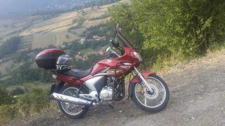 Motosikleti çalan hırsızlar aranıyor